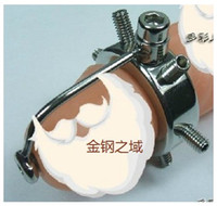 Wholesale New design A038 handmade Stainless Steel Male Chastity Device catheter Cock clamp SM Sex Stoys
