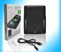 Wholesale for ipad amp Battery Pack in black super battery life mAh