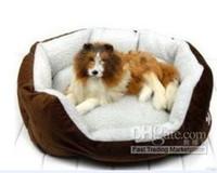 Wholesale 2012 Cashmere like soft warm Pet Bed Pet Nest luxury Dog nest Luxury warm round