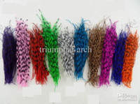 Wholesale Australian ostrich feather Hair Extension Kit Feather Extensions Feather Hair Extensions