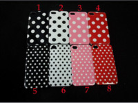 Wholesale New spade case hard case for gen case big spot hard case iphone4s iphones4 case
