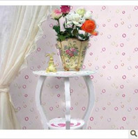 Wholesale PVC from sticky wallpaper furniture paster wallpaper white powdery bottom colorful bubbles
