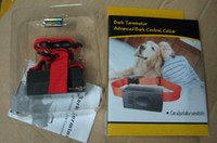 Wholesale HOT Professional Anti Bark No Barking Dog Training Shock control Collar with packing DHL