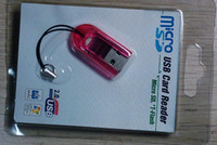 Wholesale phone key strap boutique USB micro sd smartcardreader various colors to buy freeshipping