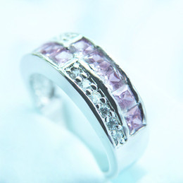 Brand New CHARMING 3.0CT PINK SAPPHIRE 14KT GOLD RING -SW041