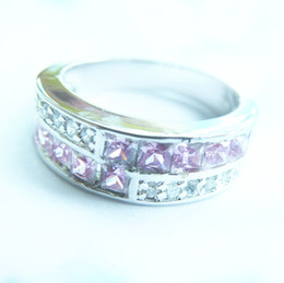High Quality CHARMING 3.0CT PINK SAPPHIRE 14KT GOLD RING -SW041