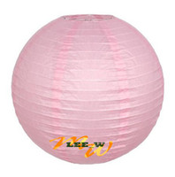 Wholesale Hot sell Chinese Paper Lanterns wedding Christmas party decorations quot lantern pink