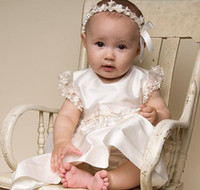 Ribbon beautiful match - In stock Beautiful Baby Hair Band to match Christening Gown headwear