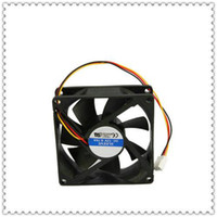 Wholesale 3Pins Power Interface Computer Chassis Fan Black Brand New