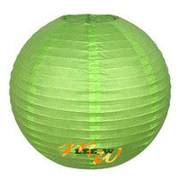 Wholesale Hot sell Chinese Paper Lanterns wedding Christmas party decorations quot lantern green