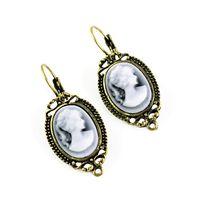 Antique bronze  antique jewellery designs - New design Hook zinc alloy Antique bronze beauty earrings Jewellery ER