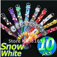 Wholesale Snow White Princess Watch D Cartoon watch Kids Watch children Watch