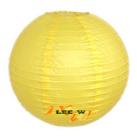 Wholesale Hot sell Chinese Paper Lanterns wedding Christmas party decorations quot lantern yellow