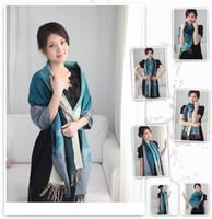 Wholesale 2012 new women fashion multiple use warm scarf neckerchief Shawl wrap color size x70cm
