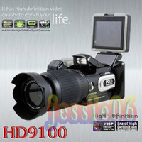 Wholesale 2012 New Arrival HD9100 Digital video camera Camcorder DV P HD MP X Zoom HD9100T Hot selling