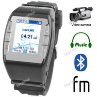 Wholesale 1 quot Touch Screen Band AT amp T T Mobile Vodafone Unlocked Watch Mobile Cell Phone Bluetooth N688