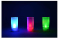 Wholesale 7 colors LED candle light changing candle Voice control Candles wedding birthday party Candle lamp