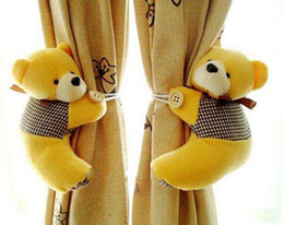Wholesale bear shape curtain buckle looks cute and beautiful curtain tieback Closer to nature
