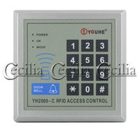 Wholesale RFID Proximity Entry Door Lock Access Control System With blue Red ID Card Key SS109868