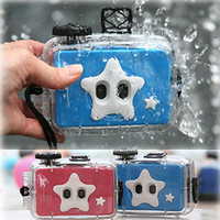 Wholesale Underwater LOMO mm Film Camera feet waterproof lens lens lens