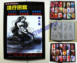 Wholesale Hot New Arrival Tattoo Book Mermaid a mythical character Fashion Design NO big sale