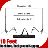 Wholesale 10 Ft Telescopic Background Backdrop Support Stand Crossbar System Photo Studio
