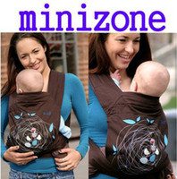 Wholesale Freeship Set Minizone Newborn Infant Baby Carrier Meitai Birdhouse printing Slings wrap