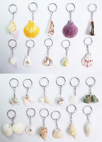 Wholesale Shells key Keys Pendant Chain Fobs sell like hot cakes shells conch
