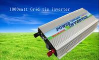 achat en gros de grille liée vent inverseur-De gros!! Livraison gratuite, 1 kW 1000watt Solar WIND Panel Grid tie inverter