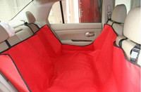 Wholesale New Hammock Non slip Pet Dog Cat Car Seat Cover piece and