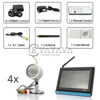Wholesale 2 GHz inch TFT LCD Wireless CMOS Camera and Receiver Security System SS109367