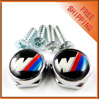 Wholesale 5pair License Plate Frame Bolt Screws for M