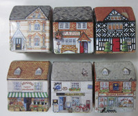 Wholesale new arrival host sell fashion lovely sweet iron mini house jewel box case gift favor cute