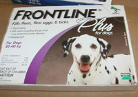 Wholesale QUALITY IMPROVED Frontline Plus Dogs lbs Dog Flea and Tick Remedi box by EMS