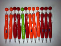 Wholesale 500pcs LOGO pen LOGO printing with by Fedex plastic promotional ball pen