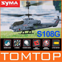 remote control helicopter - Syma S108G Mini Channel RC R C Helicopter Cobra with Gyro with Remote Control Helicopters RM252