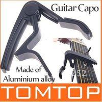 Wholesale High Quality Aluminium alloy Quick Change tune Clamp Key Capo For Electric Guitar Black I59B