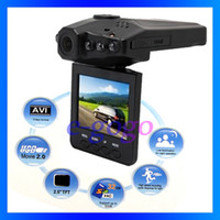 Wholesale 2 TFT LCD in Car DVR for car black box car video recorder degree LEDS IR night vision