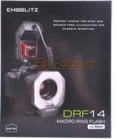 Wholesale flashlight DRF14 i TTL iTTL TTL LED Video Lights Macro Ring FLASH for NIKON D5000 D3000 D90