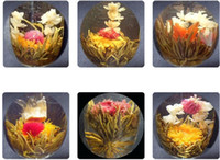 Wholesale styles kinds Blooming tea Art viewing Blossom Flower ProcessTea