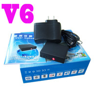 Wholesale V6 GSM AGPS Tracker Spy Audio Monitor SOS R600 Surveillance Ear Bug Wireless Listening Device PC