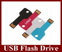 Wholesale USB Flash Drive Key Style Real GB GB GB GB U Disk Flash Disk Memory Stick pc For Sample