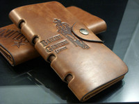 Wholesale Hot Men s Long leather wallet Best Gift