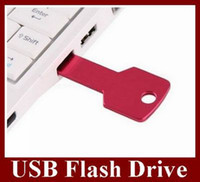 Wholesale Key Style USB Flash Drive Real GB U Disk Flash Disk Memory Stick Colors For Choose