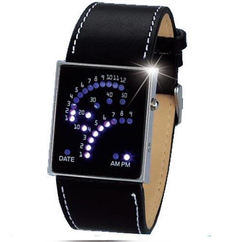 men led watches stylish unique design 29 binary led digital wrist men led watches stylish unique design 29 binary led digital wrist watch 30056 black