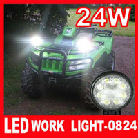 Wholesale high power w LED Work Light Driving Light Wide Flood Beam Motor Truck SUV ATV