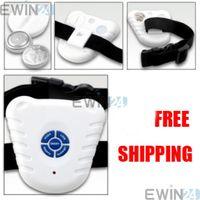 Wholesale 10X Ultrasonic Bark Stop Dog Training Aid Barking Control Collar Dropshipping