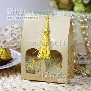 Discount Wedding Candy Box Wedding Supplies Gift Box European High