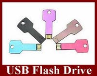 Wholesale Key Style USB Flash Drive Real GB U Disk Flash Disk Memory Stick
