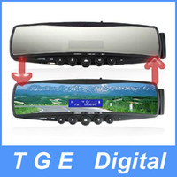 Wholesale Bluetooth Car Rearview Mirror with Embedded Mini LCD